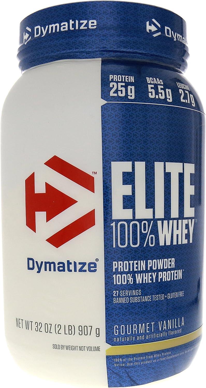 Dymatize Elite 100 Whey Protein Gourmet Vanilla — 2 lbs