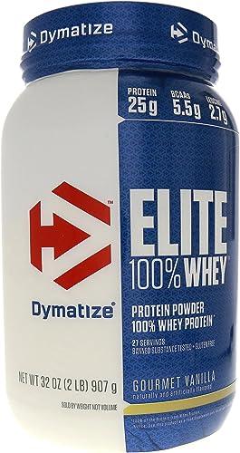 Dymatize Elite 100 Whey Protein Gourmet Vanilla – 2 lbs