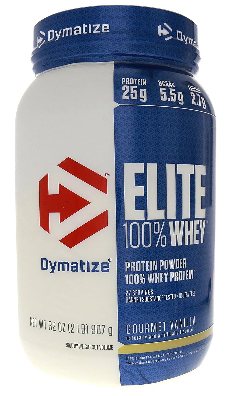Dymatize Elite Whey Protein Isolate Gourmet Vanilla – 2.03 lbs