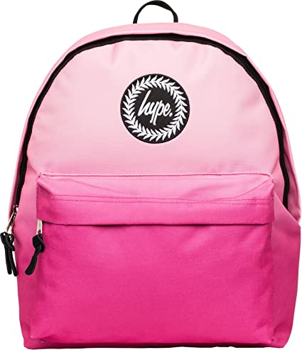 Amazon.com | HYPE Fade Backpack Peach/Pink Schoolbag ...