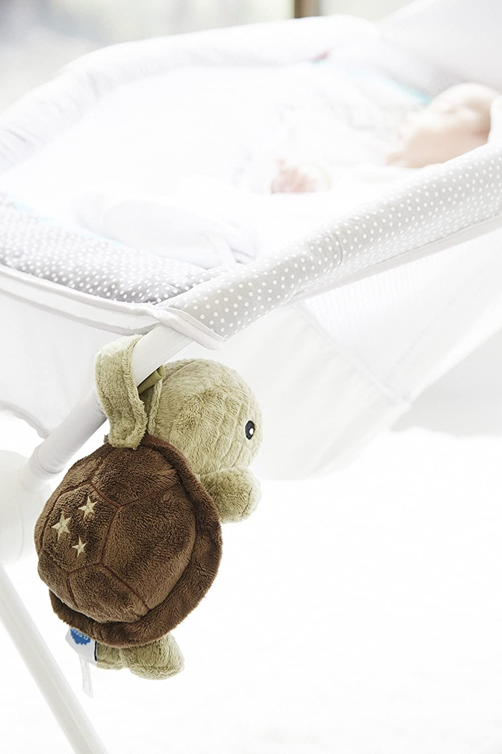 Blue Cloud B Baby Rattles and Plush Rings Chameleon