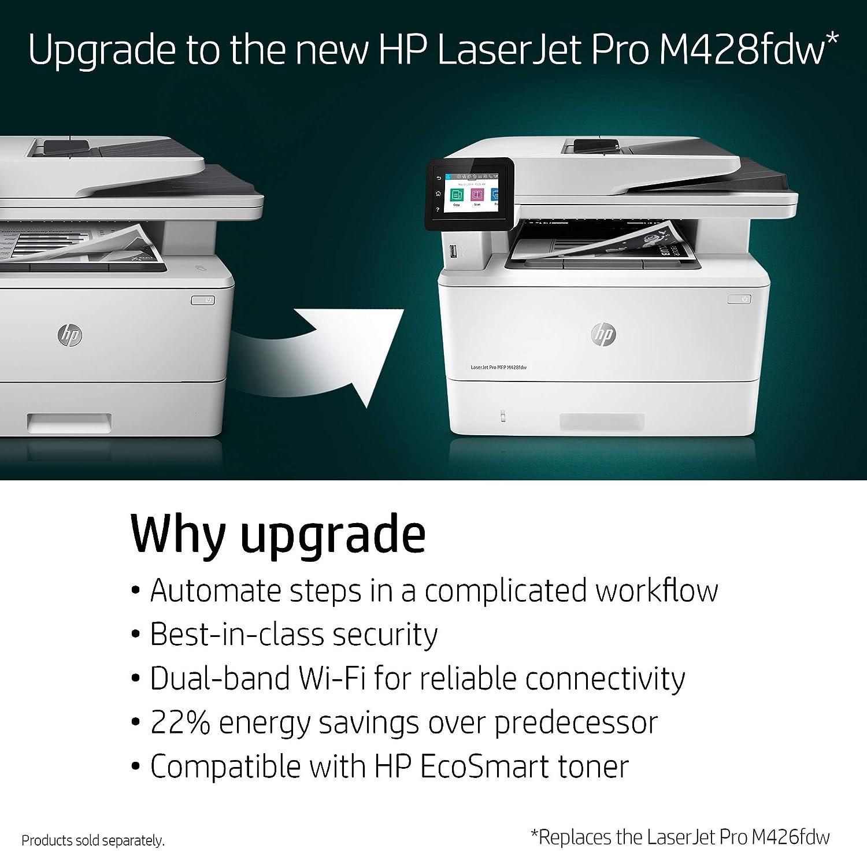 Amazon com: HP LaserJet Pro M426fdw All-in-One Wireless