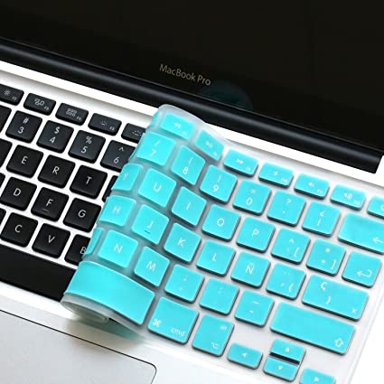 """6e73cfea62a Masino SPANISH Language Silicone Keyboard Cover Skin for MacBook Air  13"""" MacBook Pro with or"""