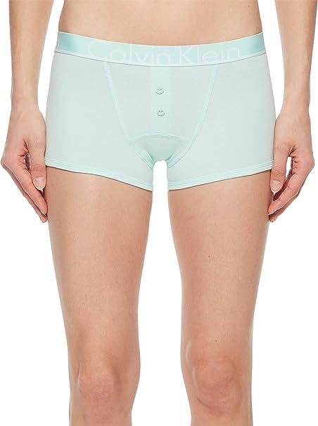 23011a46c2 Calvin Klein Underwear Women s CK ID Cotton Large Waist Band Trunk Keppel  Large