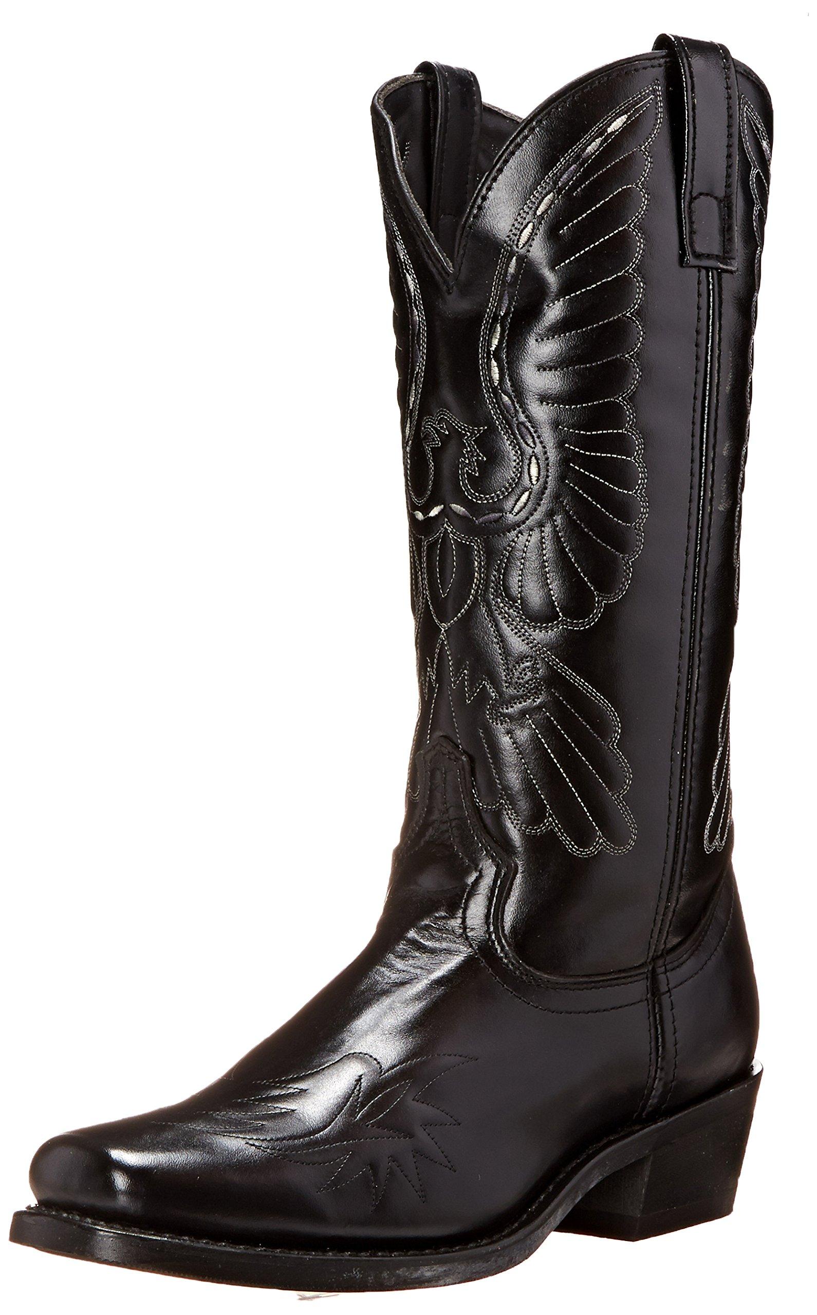 Laredo Men's Gainesville Western Boot, Black, 8 D US