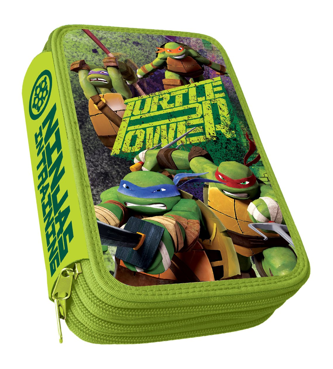 Astro Ninja Turtle Federmäppchen mit 3 Reißverschlüssen: Amazon.de ...