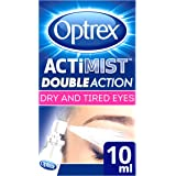Optrex 2-in-1 ActiMist Dry and Tired Eye Drops Spray, 10 ml