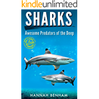 Sharks: Amazing Fun Facts & Photos Book of Sharks for Kids with Videos (Nature in Action Series): Awesome Predators of the Deep Shark Book for Kids (English Edition)