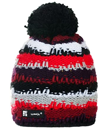 b94d2e1e92a Knitted Wolly Beanie Bruno Ponpon Men s Women s Winter Warm Fashion SKI  Snowboard Hats (Bruno 20) MFAZ Morefaz Ltd  Amazon.co.uk  Clothing