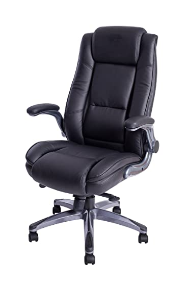 high back leather office chair executive computer desk adjustable angle recline locking system no wheels chairs for sale seat cover
