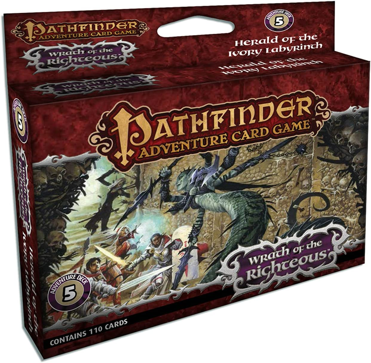 Pathfinder Adventure Card Game: Wrath of the Righteous Adventure Deck 5: Herald of the Ivory Labyrinth: Selinker, Mike: Amazon.es: Juguetes y juegos