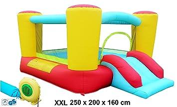 Castillo hinchable multicolor Jumbo XXL de Izzy Sport (250 x ...