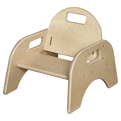 Wood Designs Stackable Woodie Toddler Chair, 5 High Seat
