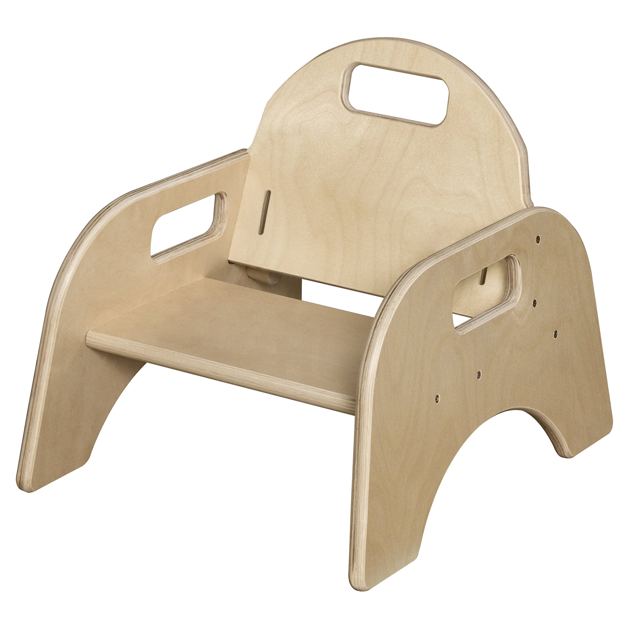 Wood Designs Stackable Woodie Toddler Chair, 5'' High Seat