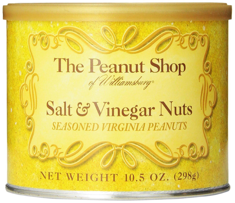 Salt & Vinegar Seasoned Virginia Peanuts - 10.5oz - PACK of 3!