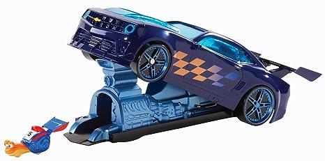 Turbo - Chevy Camaro, coche con lanzador (Mattel Y8351)