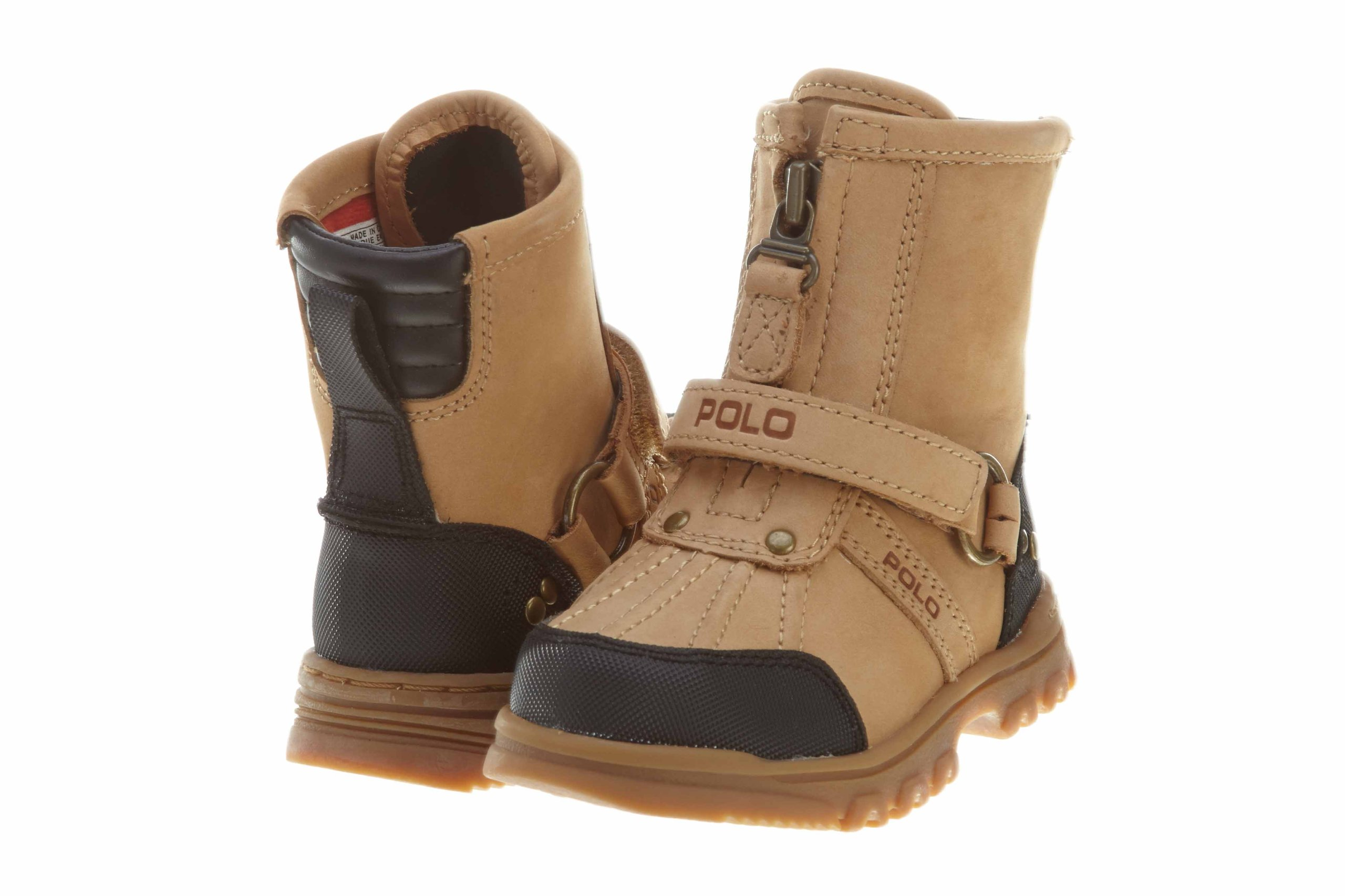 Polo Poloconquest Hi Little Kids Style: 90238TD-CASHEW Size: 5.5
