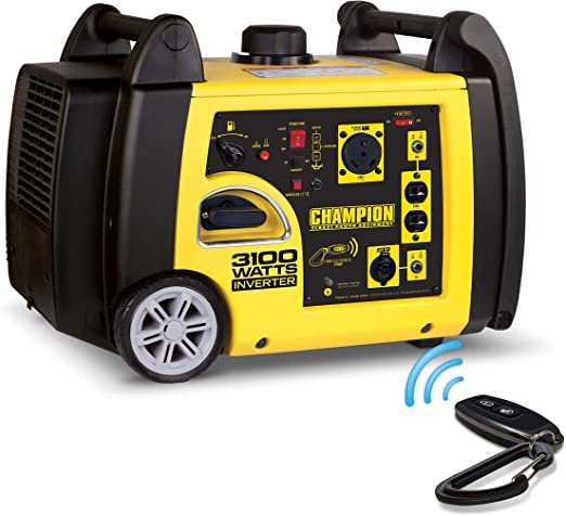 Amazon.com: Champion 3100-Watt RV Ready Generador de ...