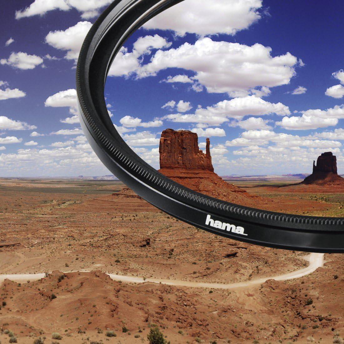 HTMC 8-fach Verg/ütung F/ür 40,5 mm Foto-Kameraobjektive Hama Polarisations-Filter Weitwinkel