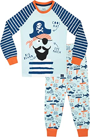Harry Bear Boys Shark Pajamas