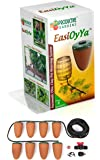 Professional Watering Spikes - EasiOyYa Automatically Delivers Water To The Roots Of Your Plants 24/7 - Your Long Term Holiday/Vacation Watering Solution - Natural Olla Irrigation