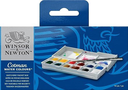 453 opinioni per Winsor & Newton- Cotman Watercolor Sketcher 12 pezzi