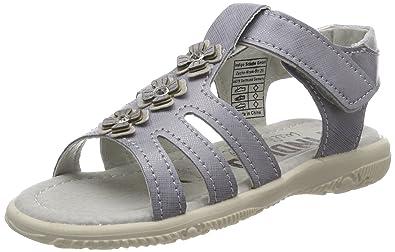 Indigo Schuhe Mädchen 382 225 Offene Sandalen, Weiß (White), 30 EU