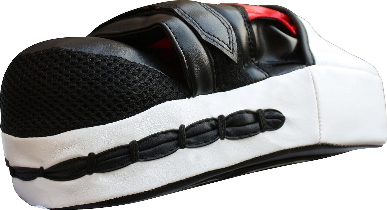 Almohadillas con estilo Focus Handguards Almohadillas de lucha deportiva para Muay Thai