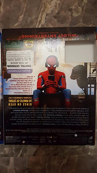 Spider-Man: Homecoming (Plus Bonus Content) Action packed & funny