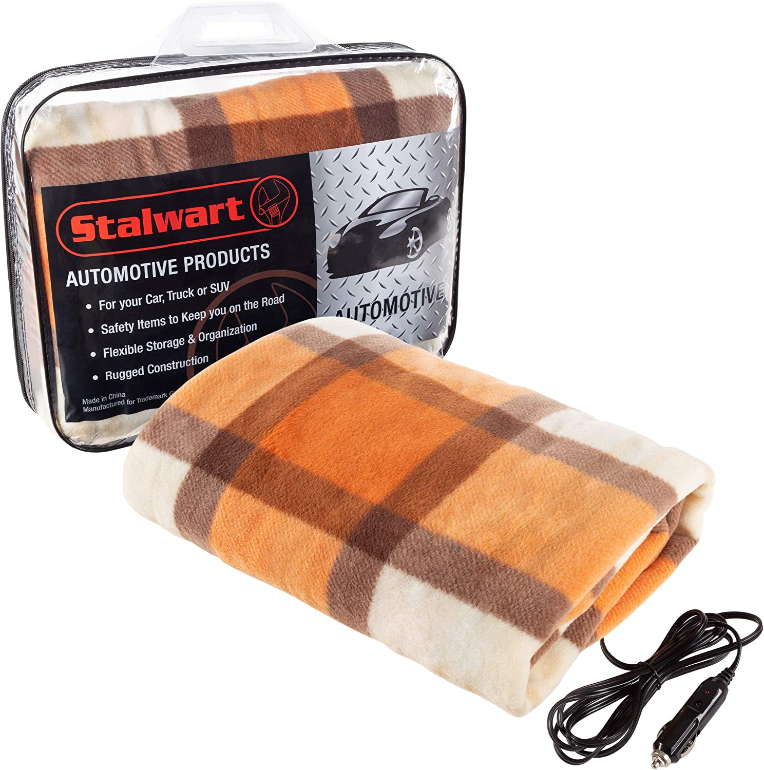 Stalwart 75-BP900 Green Electric Auto Blanket