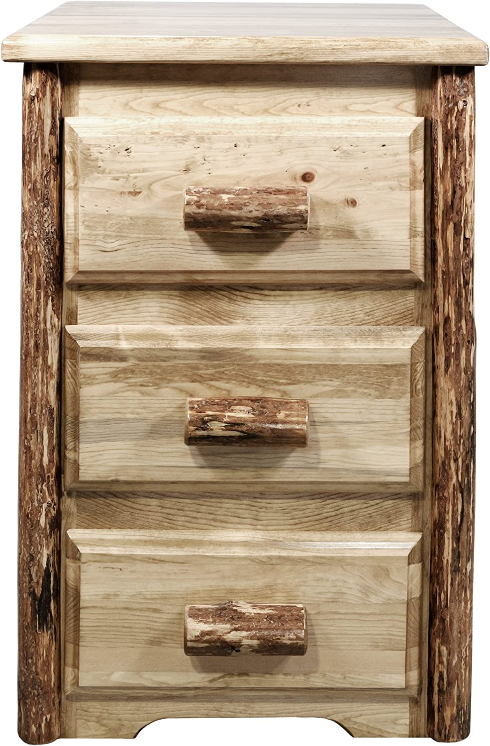 American Woodcrafters Heirloom Nightstand, Antique White