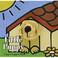 Little Puppy: Finger Puppet Book: (Puppet Book for Baby, Little Dog Board Book)