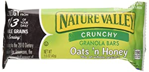 Nature Valley Crunchy Granola Bars Oats 'N Honey - 98 bars of each packs of two