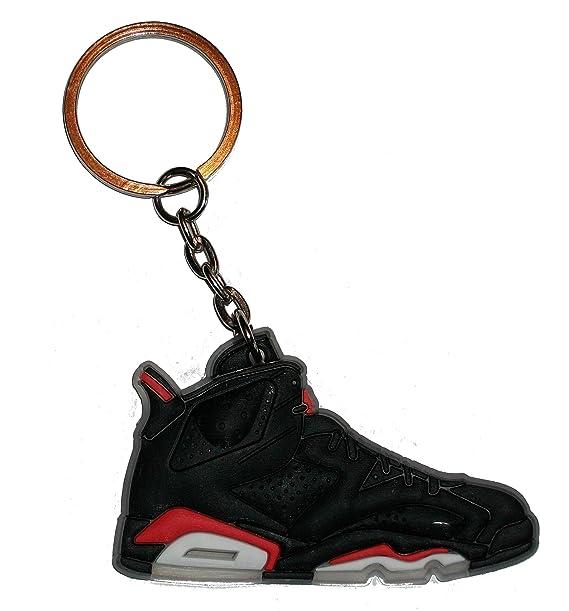 Air Jordan llavero con 6/llavero con muñeca - negro/por ...