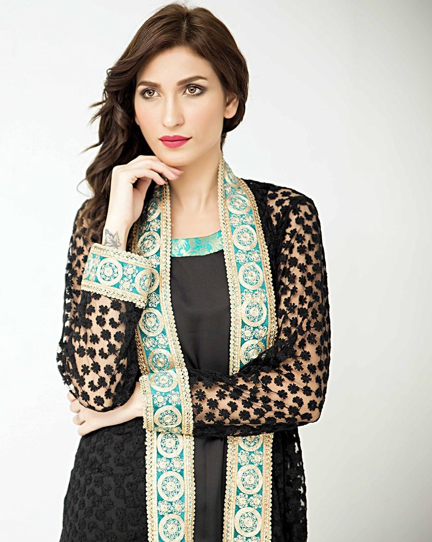 Pakistani Designer Gown 3 Piece Suit by Zainab Hasan