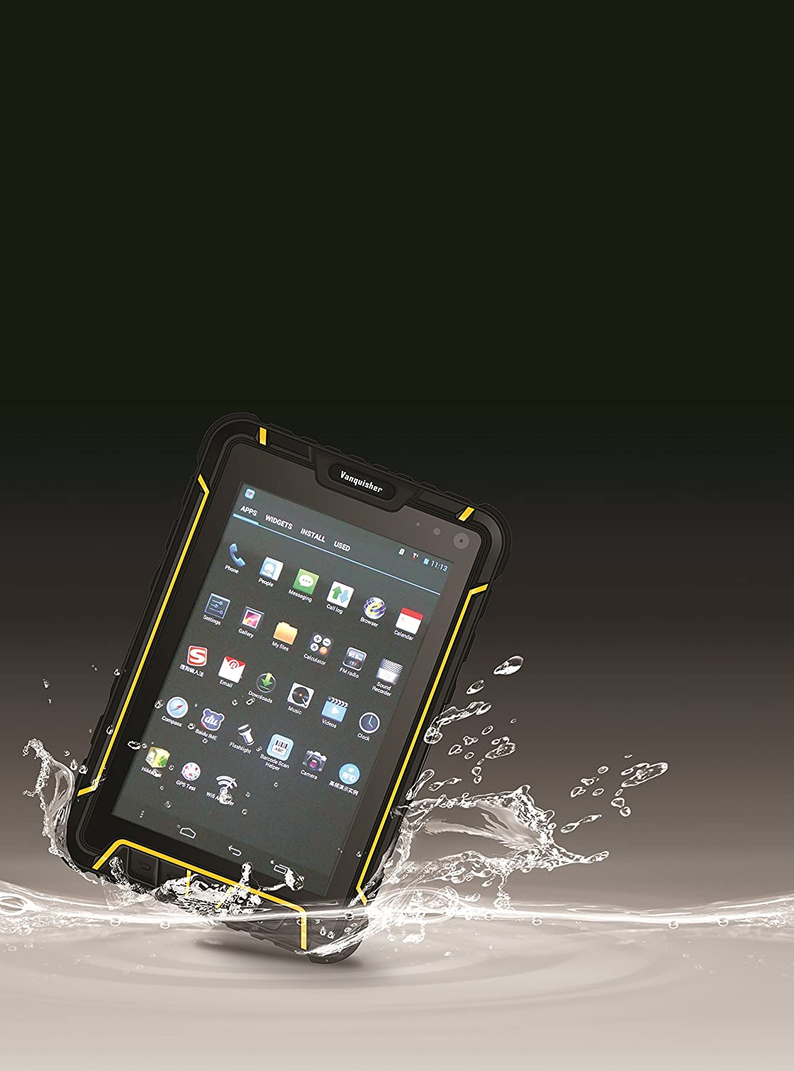 IP67 Waterproof Tablet With Symbol 1D CCD Barcode: Amazon co