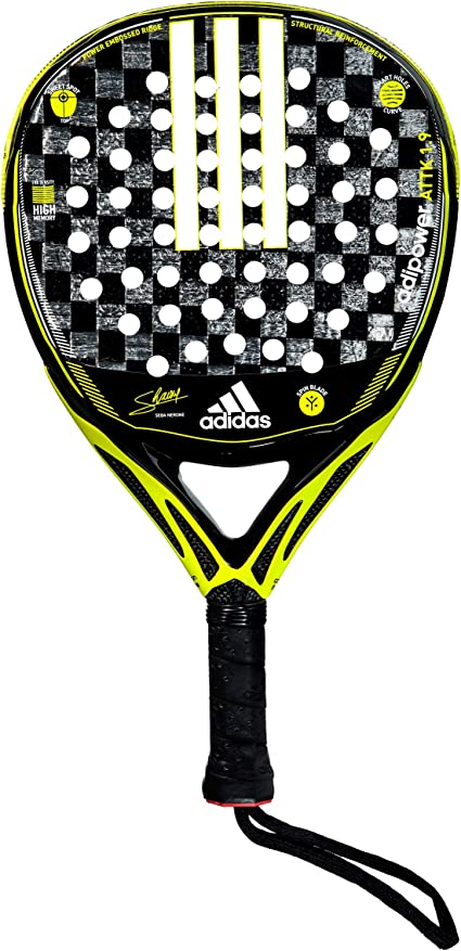Amazon.com: adidas Adipower Attack 1.9 Neon Yellow / Black ...