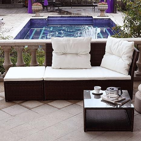 Mon Usine 210686 el Melania salón de jardín (3 Personas ...