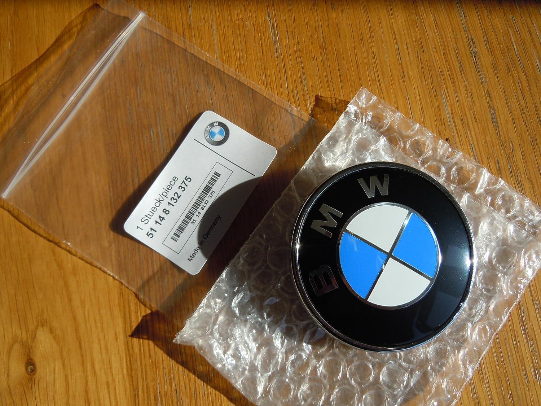diametro: 74/mm 3 6 7 Z adatto a Serie 1 5 BMW Simbolo distintivo per cofano e bagagliaio