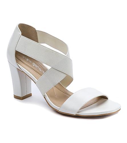 fb78db113b8 Andrew Geller Queena Women s Heels White Size 6 M (AG14308)