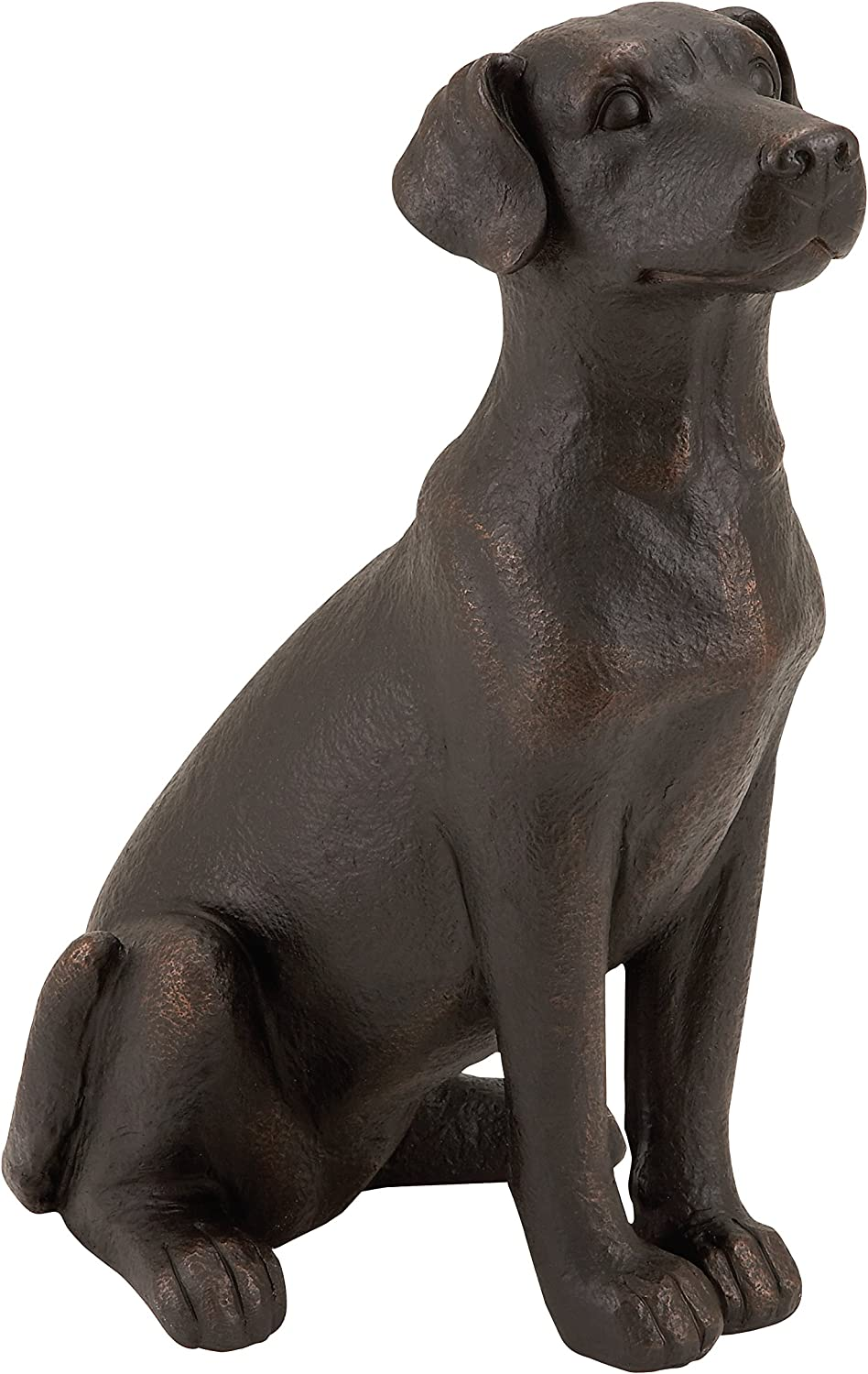 Dog Statue Style Selections Polystone Welcome Home Golden Lab Decor