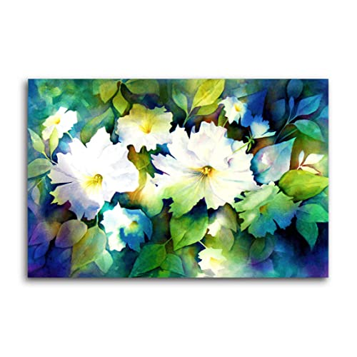 Canvas wall painting buy canvas wall painting online at best prices tamatina pretty flowers nature modern art canvas paintings multicolour large 35x23 inches mightylinksfo
