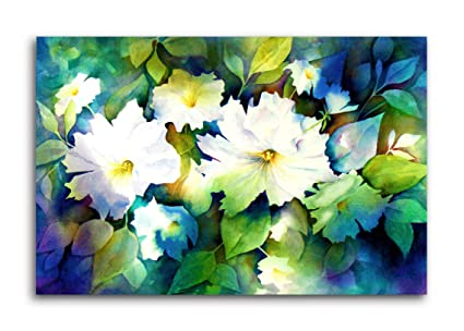 Tamatina Pretty Flowers Nature Modern Art Canvas Paintings