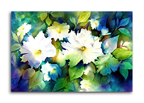 Tamatina Pretty Flowers Nature Modern Art Canvas Paintings