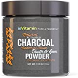 Natural Whitening Tooth & Gum Powder with Activated Charcoal (2.75oz)