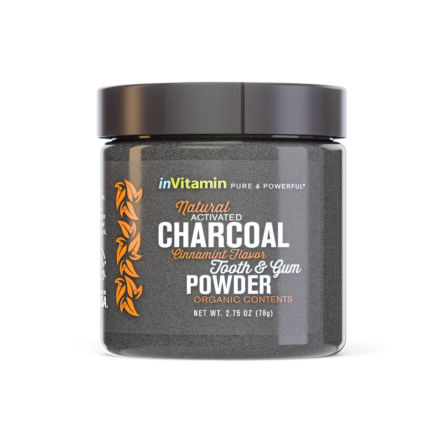 amazon com natural whitening tooth gum powder with activated rh amazon com