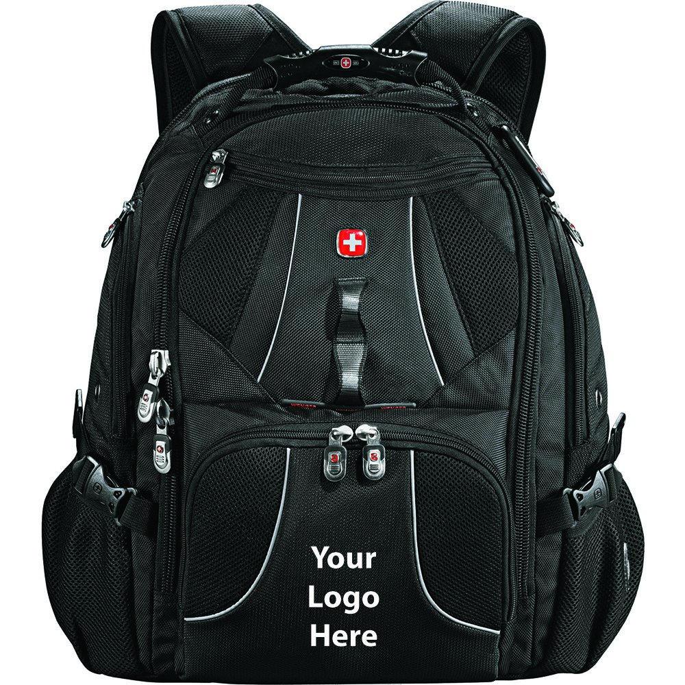 Wenger Mega 17'' Computer Backpack - 6 Quantity - $115.00 Each - PROMOTIONAL PRODUCT / BULK / BRANDED with YOUR LOGO / CUSTOMIZED