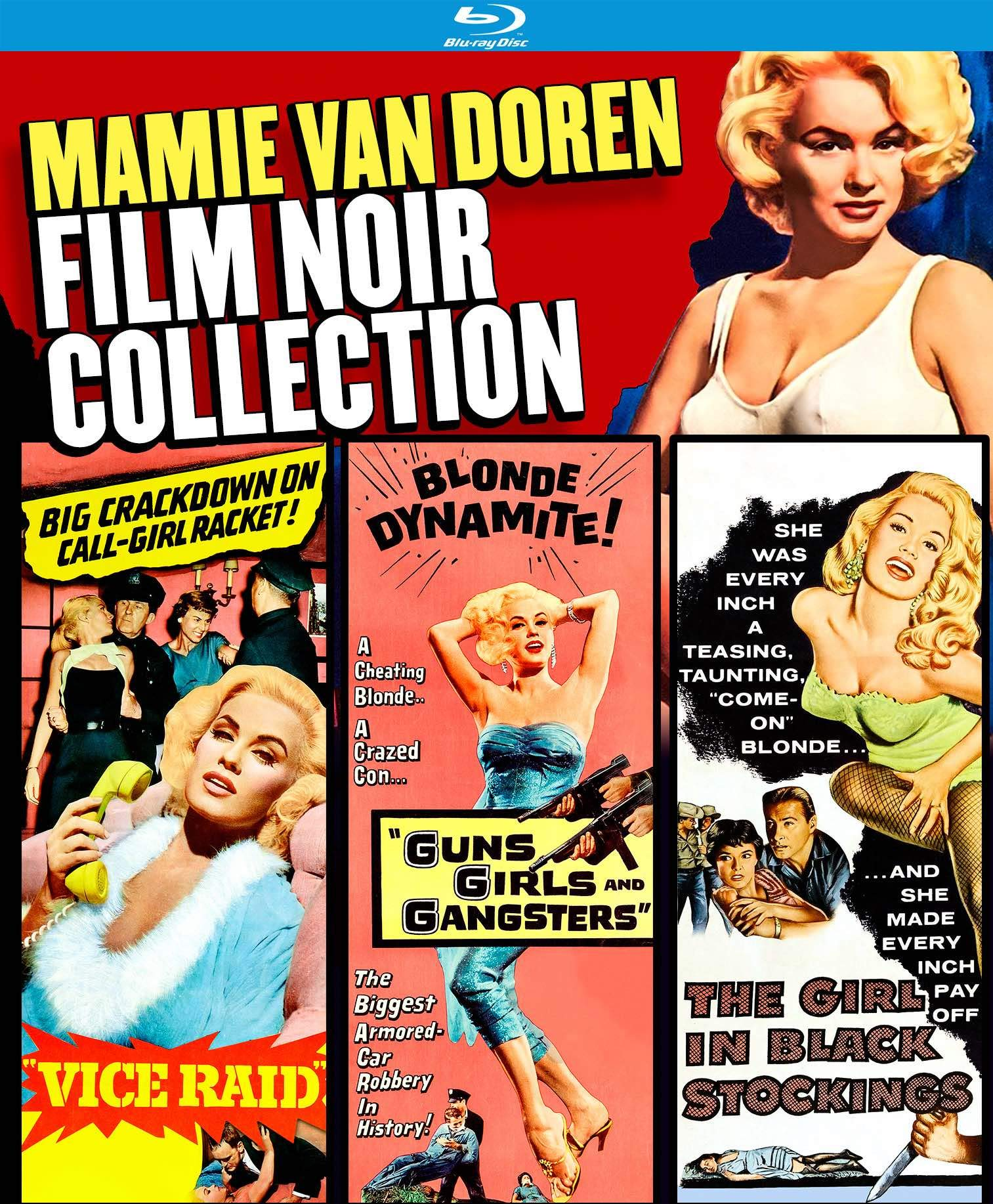 Blu-ray : Mamie Van Doren Film Noir Collection (2 Pack)