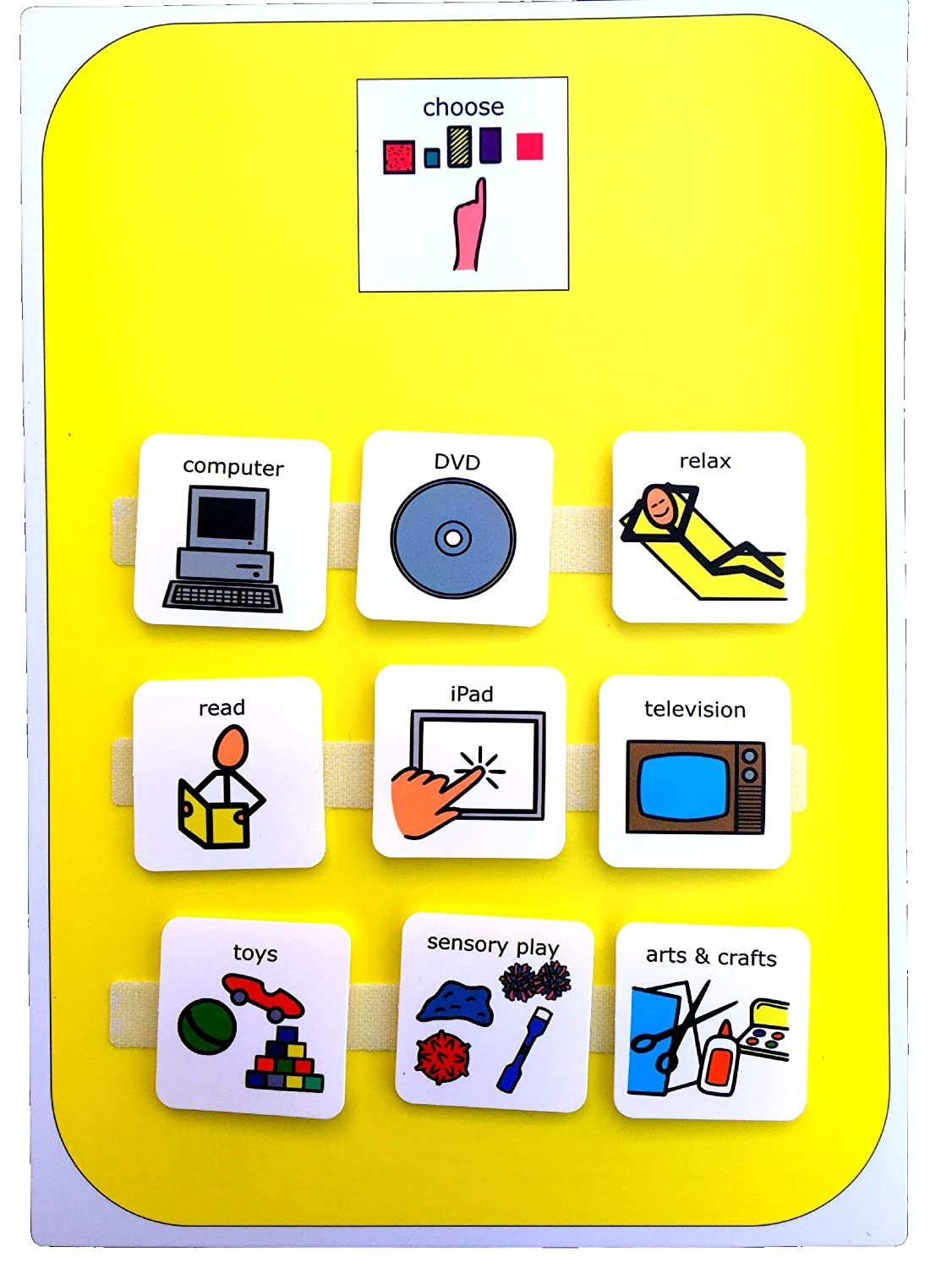 Amazon autism supplies and developments picture exchange amazon autism supplies and developments picture exchange communication system indoor activity choice board toys games buycottarizona