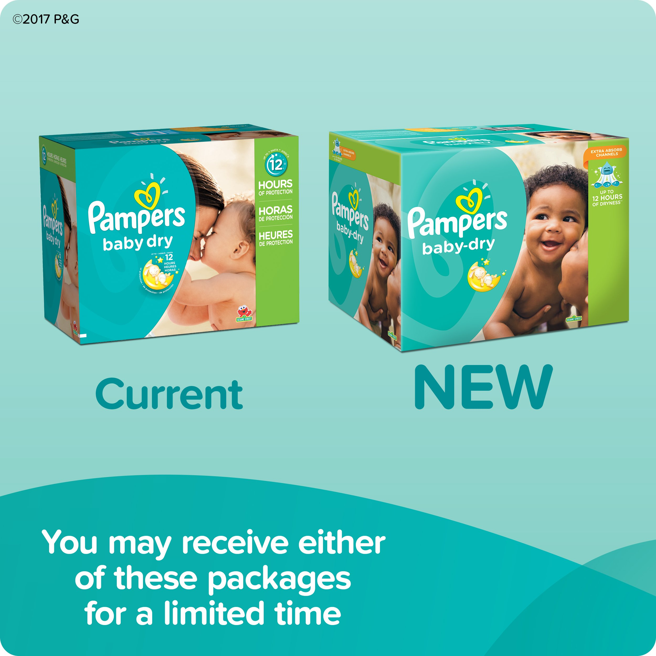 Pampers Baby Dry Diapers Size 5, 160 Count | eBay